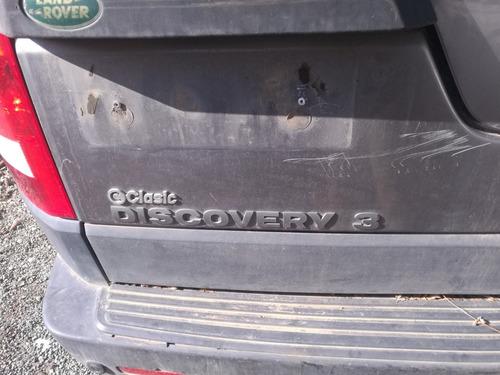 en desarme land rover discovery 3.4 año 2007 4x4