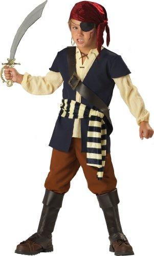 en disfraces personajes, niños 8-20 yerba buena pirate set