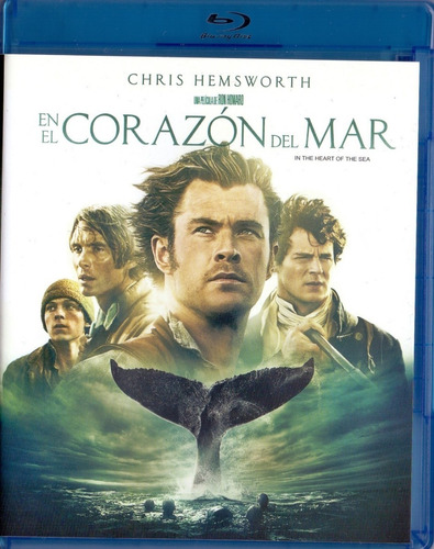 en el corazon del mar chris hemsworth pelicula blu-ray