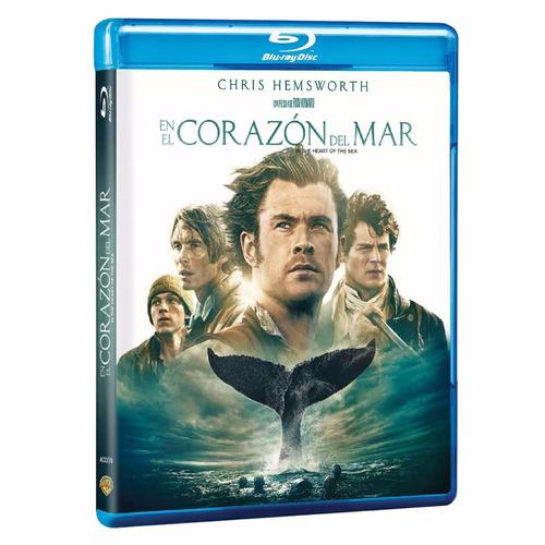 en el corazon del mar chris hemsworth pelicula blu-ray + dvd