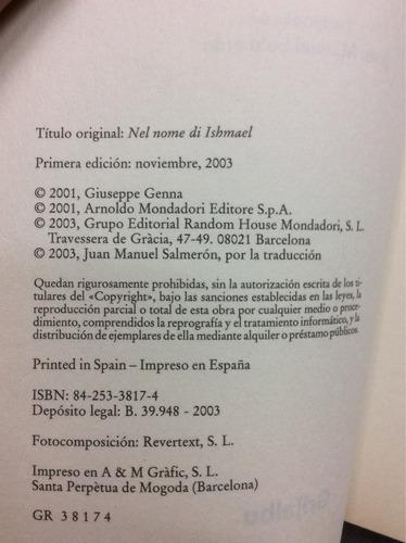 en el nombre de ishmael - giuseppe genna - ed. grijalbo