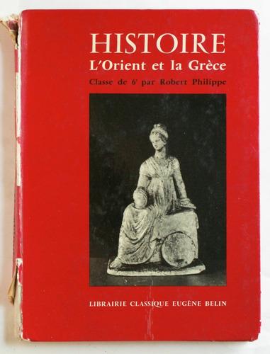 en francés: historia de occidente y de grecia / ed. 1960