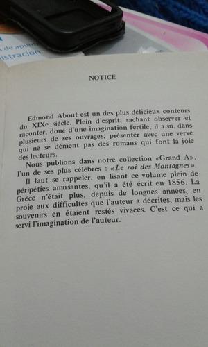 en francés le roi des montagnes edmond about