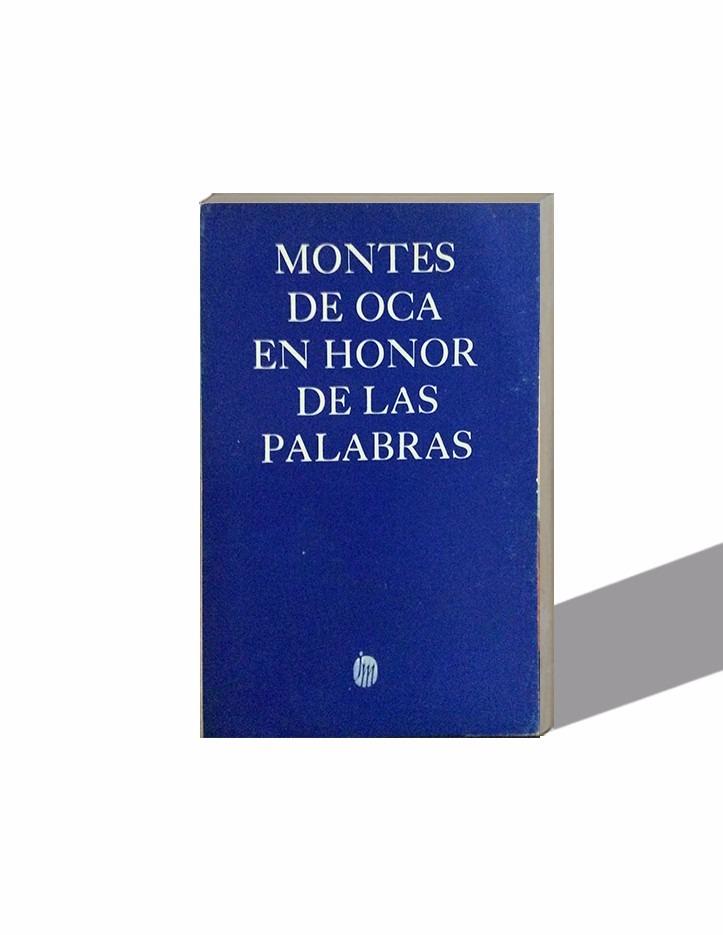 En Honor De Las Palabras, Marco Antonio Montes De 1ra Ed ...