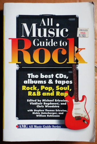 en inglés: all music guide to rock / ed. 1995