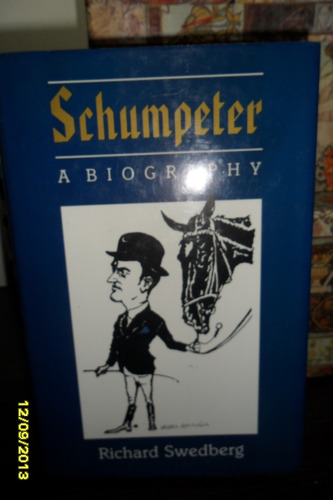 en ingles schumpeter a biography richard swedberg usado