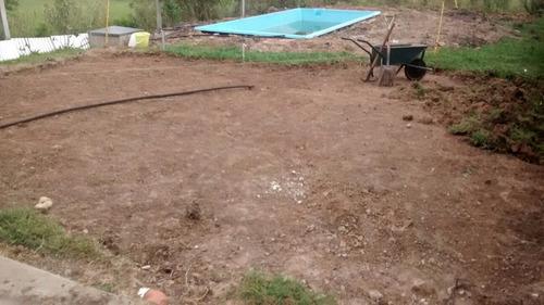 en la plata, limpieza, nivelación de terrenos, demoliciones
