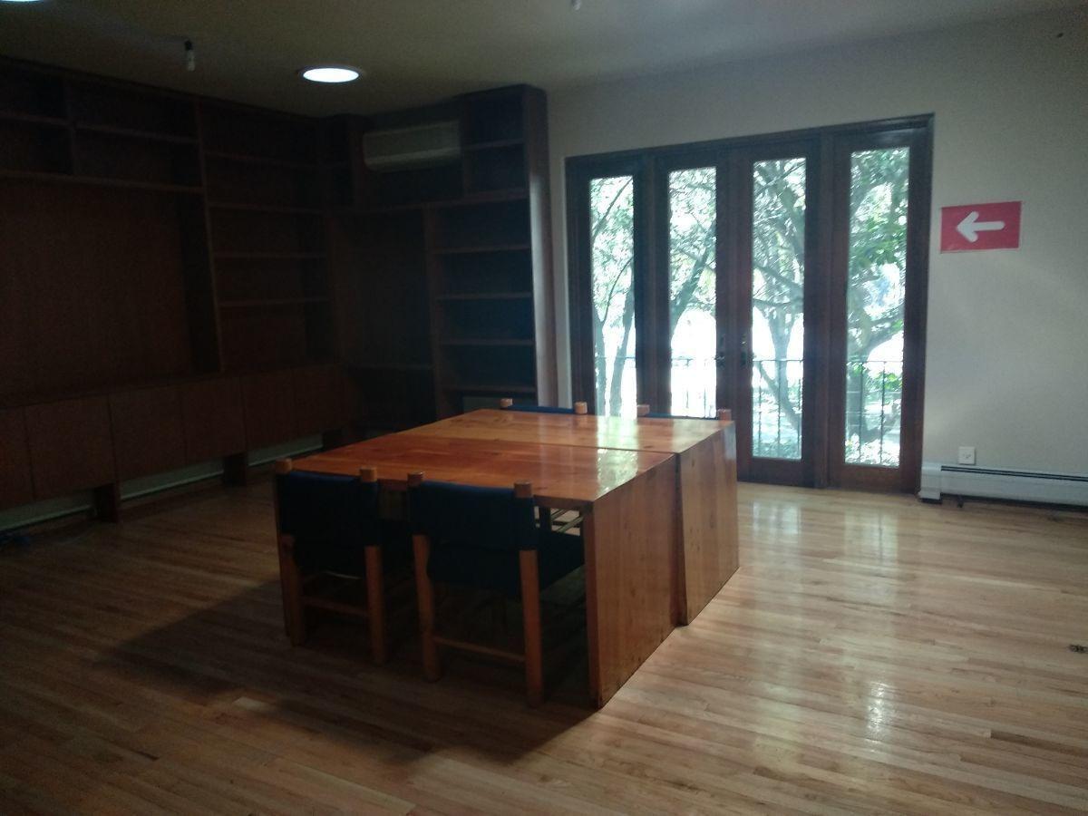 en renta excelente oficina de 235 m2 en colonia anzures.