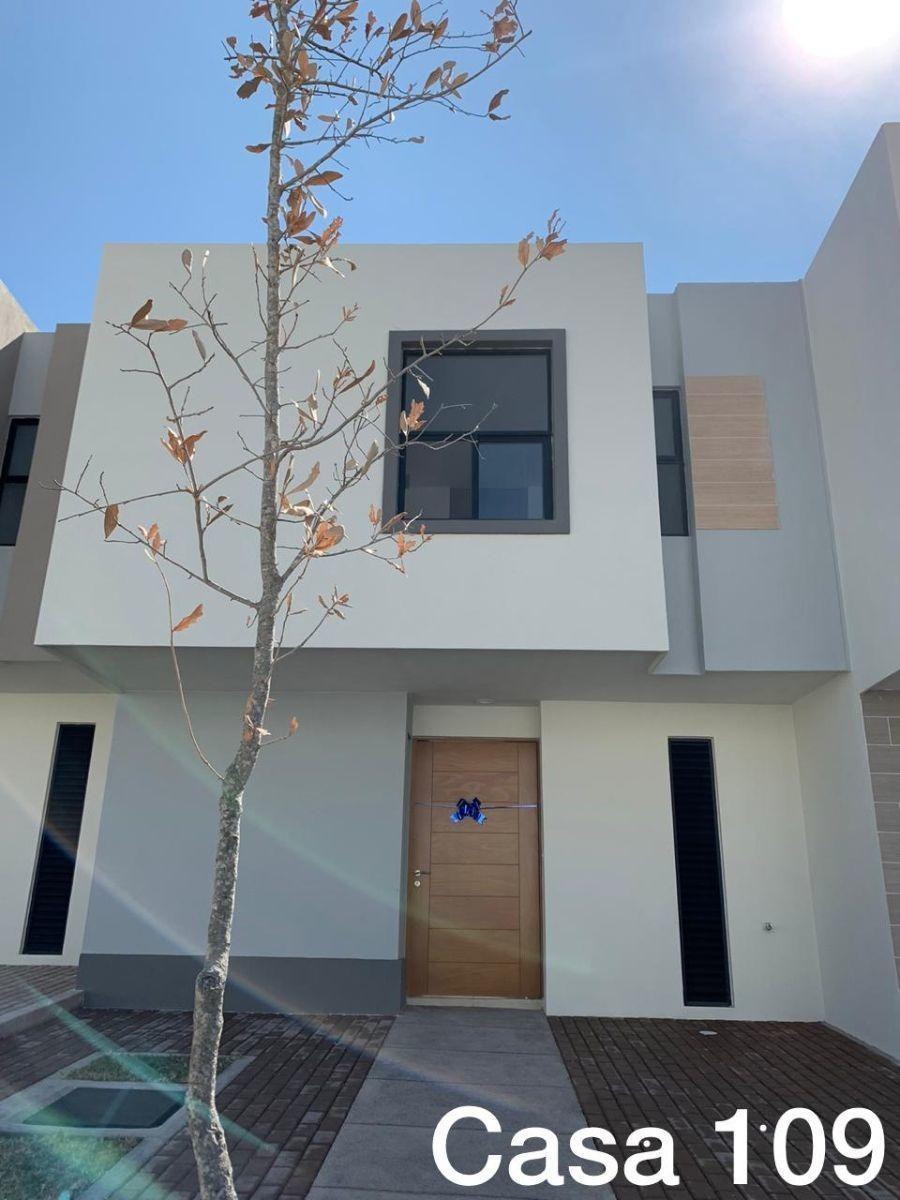 en renta hermosa casa en zakia, equipada, 3 recamaras, persianas, alberca