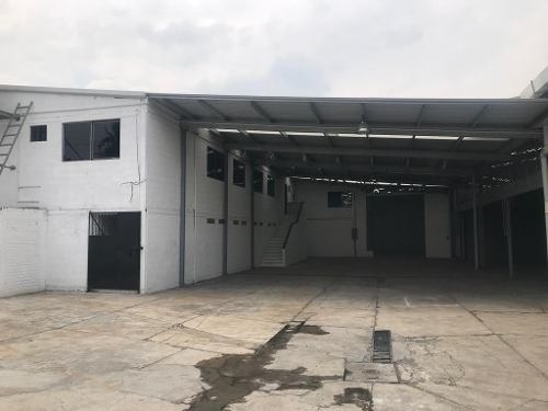 en renta nave industrial tlahuac, canal de garay