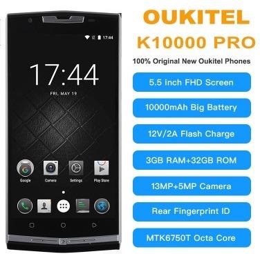 En Stock Oukitel K10000 Pro Octa Core Android 7 0 3g Ram