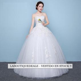 56380bdfe Vestido Novia En Chifon Escote Corazon Con Bordados - Vestidos De 15 años para  Mujer en Mercado Libre Uruguay