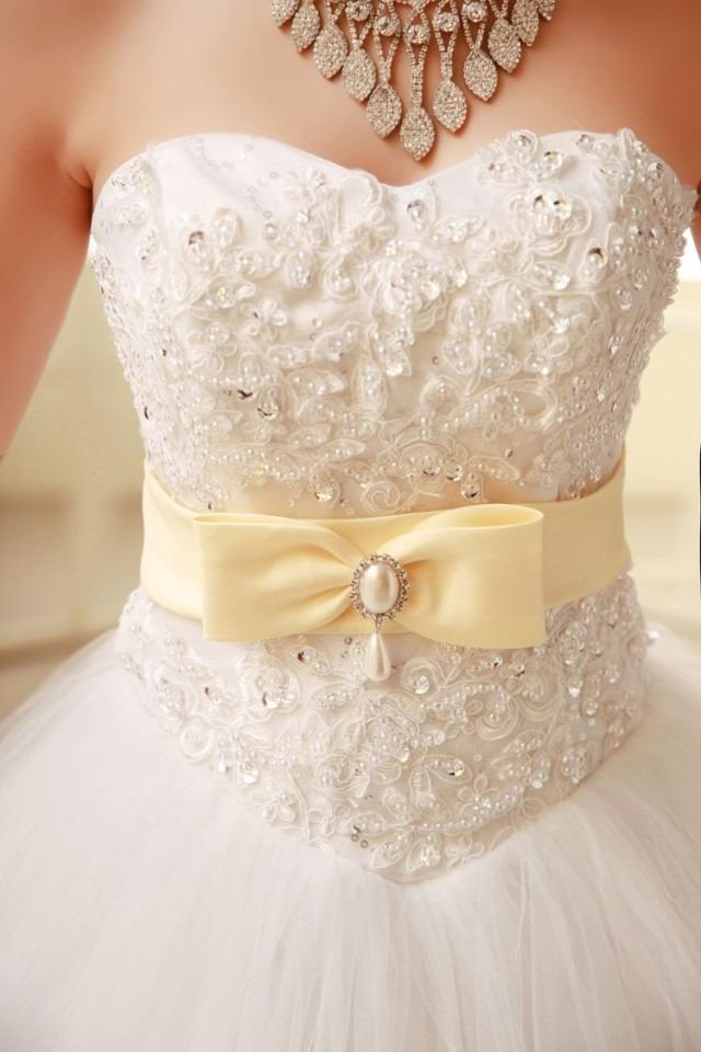 en stock vestido novia, 15, fiesta, boda, casamiento nuevo - $ 7.000