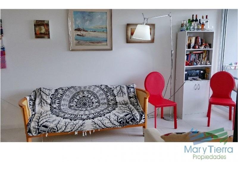 en venta.... apartamento 1 dormitorio en av. roosevelt, punta del este-ref:781