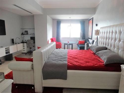 en venta apartamento amueblado 3hab en piantini c/ascensor privado y área social