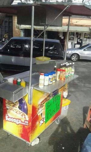 en venta carrito de perroscaliente
