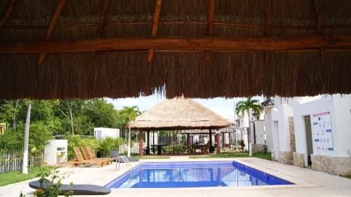 en venta casa amueblada en real bilbao    playa del carmen p2956