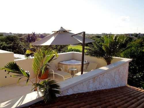 en venta casa de lujo en puerto aventuras, excelente capitalización de rentas playa del carmen p1664