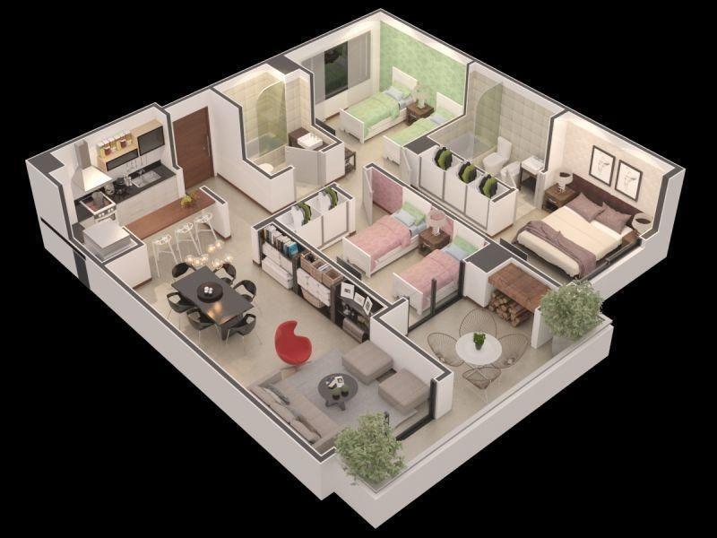 en venta desde el pozo, departamentos 1,2,3 y 4 ambientes,