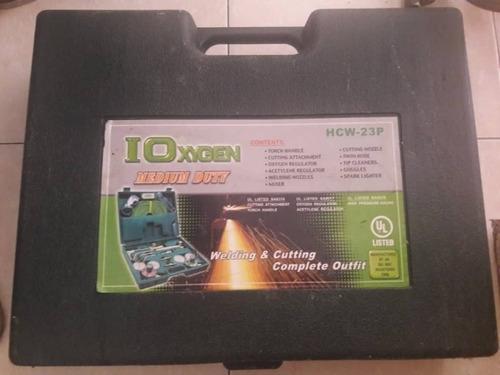 en venta equipo de oxicorte marca ioxigen