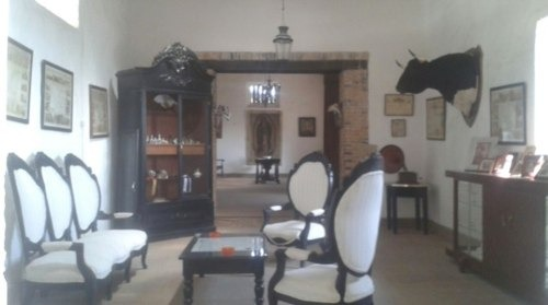 en venta hacienda en hidalgo casco antiguo y terreno 442 has