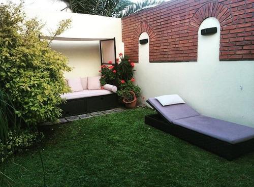en venta hermoso chalet en ciudad jardín en impecable estado tomo menor valor!! f: 7064