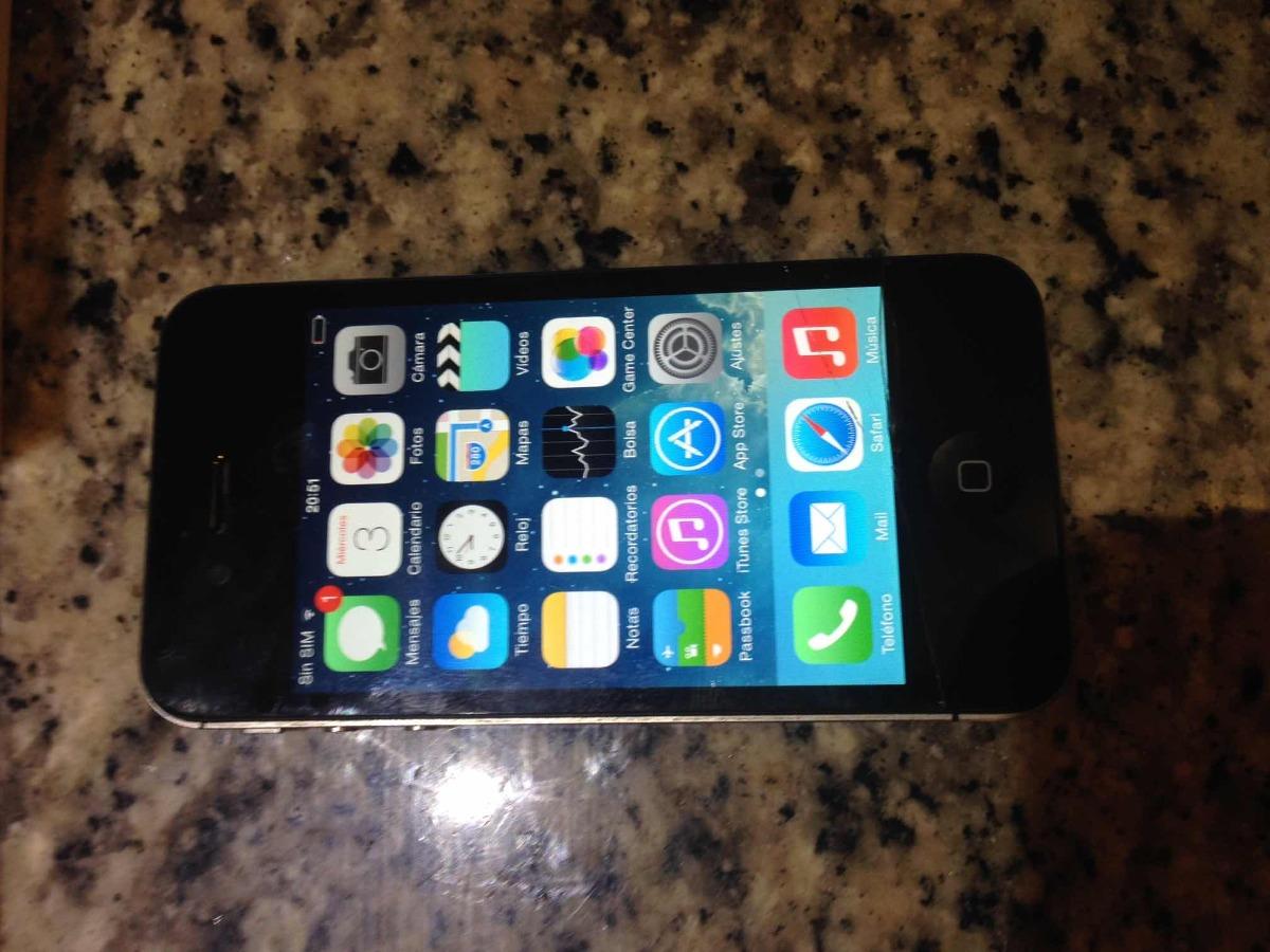 e28ae0238ab En Venta iPhone 4 Usado De 16 Gb - Bs. 5.000,00 en Mercado Libre