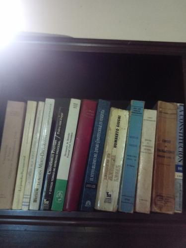 en venta libros de derecho derecho civil y otros. con la com