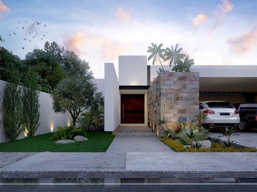 en venta magnifica residencia en artisana!!! en temozon norte