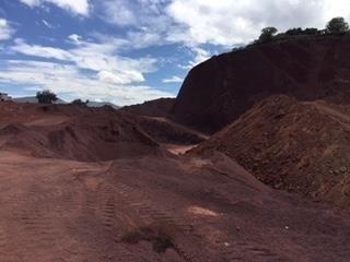 en venta mina de tezontle cerca de nuevo aeropuerto en texco