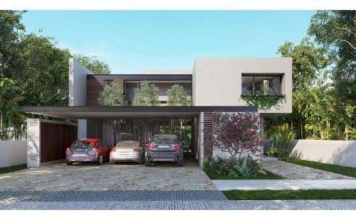 en venta moderna casa en yucatan country club