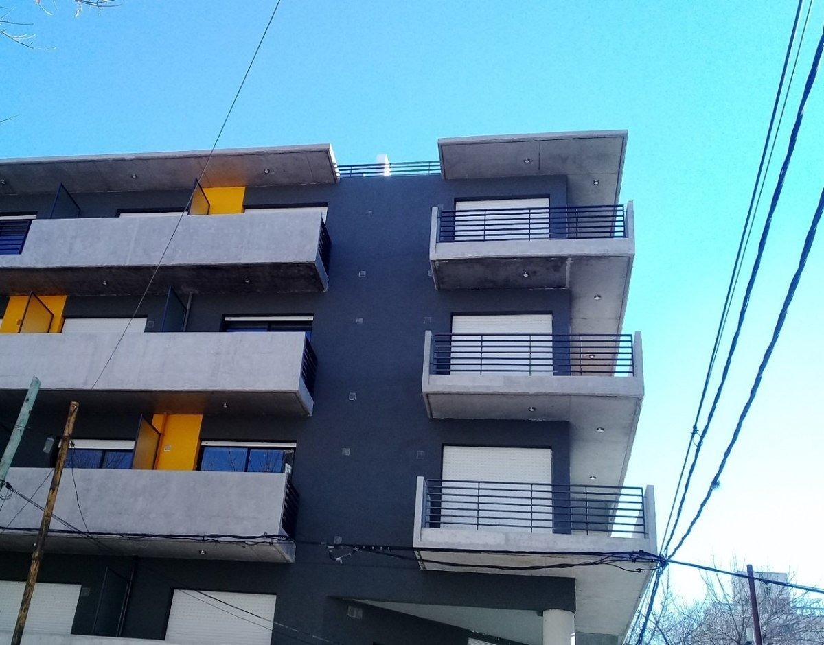 en venta monoambiente con terraza exclusiva - san lorenzo 3400 - a estrenar