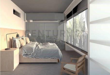 en venta semipiso de 3 ambientes en edificio de categoría, full amenities