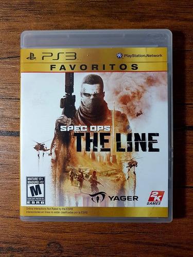 en venta spec ops playstation 3 ps3 gran estado !!