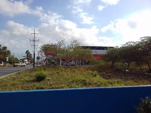 en venta terreno 1,600 m2 centro playa del carmen p1912