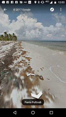 en venta terreno al mar carretera mahahual-punta herrero