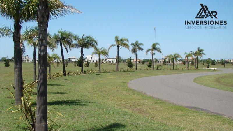 en venta terreno en barrio cerrado puerto roldan - entrega y escritura inmediata