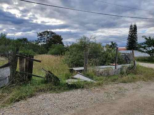 en venta terreno en zona residencial san lorenzo cacaotepec lote 2