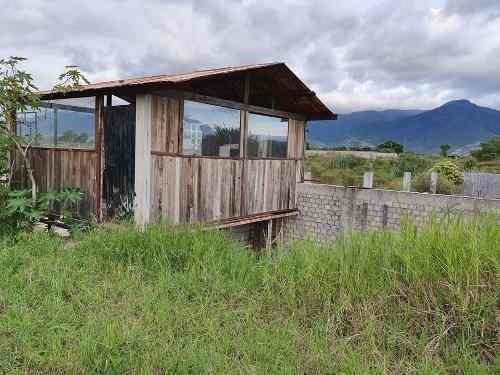 en venta terreno en zona residencial san lorenzo cacaotepec, oaxaca