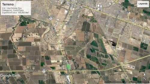 en venta terreno sobre carretera mexicali-san luis km. 7.5