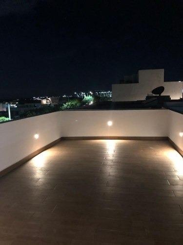 en zibatá de autor, roof garden, doble altura, 3 recamaras..
