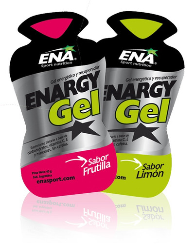 ena gel enargy x 1 unidad mango ideal running ciclismo