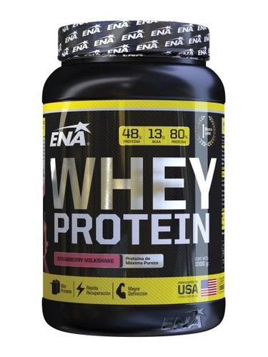 ena whey protein  frutilla x 1000g