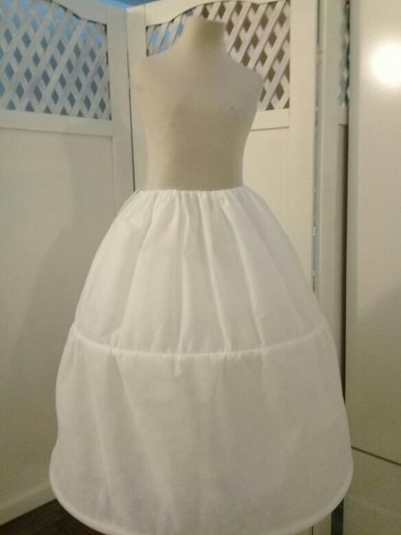 8635de39b Enagua 50cm .para Vestido De Fiesta Niñas