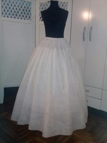 enagua- miriñaque para vestido de novia , 15 años. 3 aros