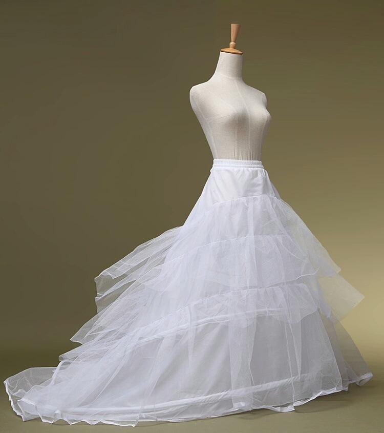 enaguas, can can para vestido de novia con cola - $ 89.000 en