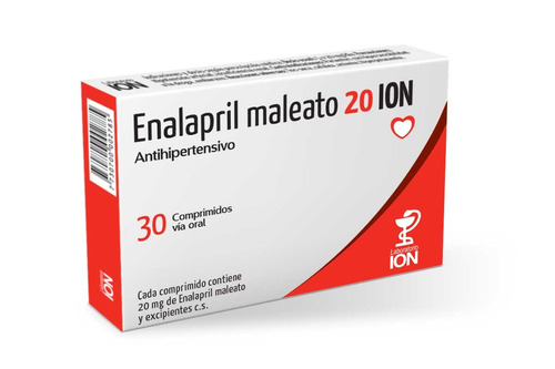 enalapril 20 mg 30 comp ion