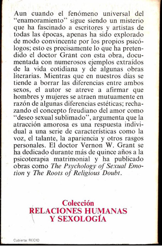 enamorarse °vernon w. grant° editorial grijalbo