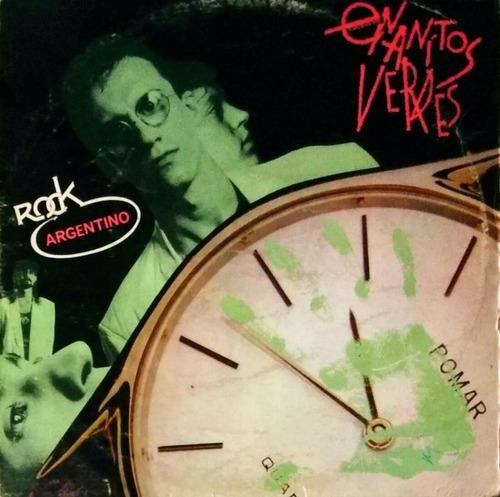 enanitos verdes ¿¿ contra reloj - rock (acetato)