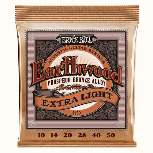 enc ernie ball earthwood phosphor bronze 2150 extra light